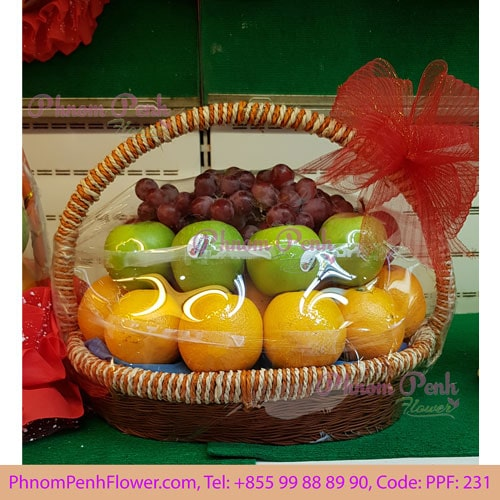Classic fruit basket arrangement – PPF-231