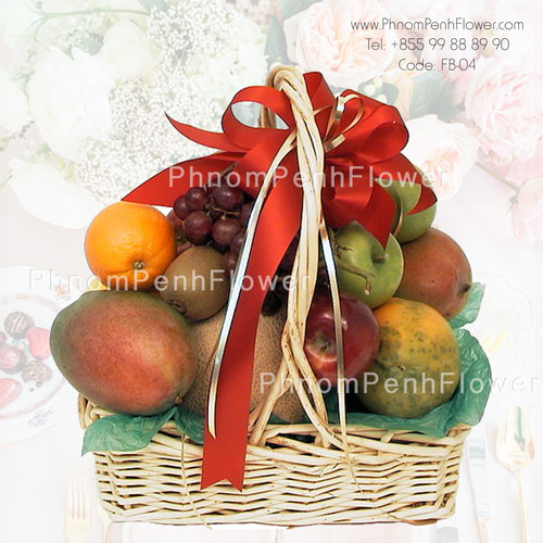 Fruit basket arrangement – FB-04
