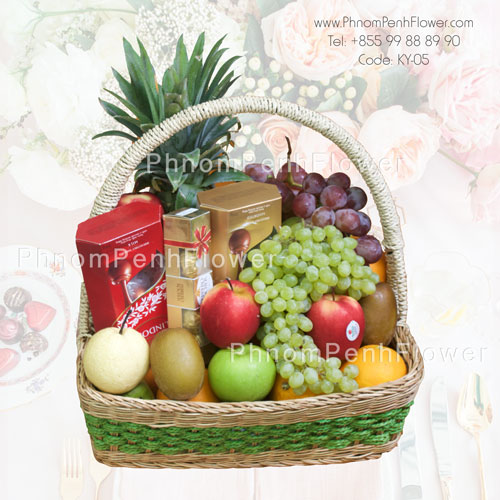 Fruit & Chocolate Basket – BW-01