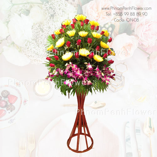 Grand Opening Flower Stand- 0n-08