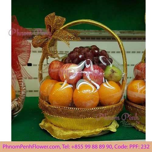 Tropical fruits basket arrangement – PPF-232