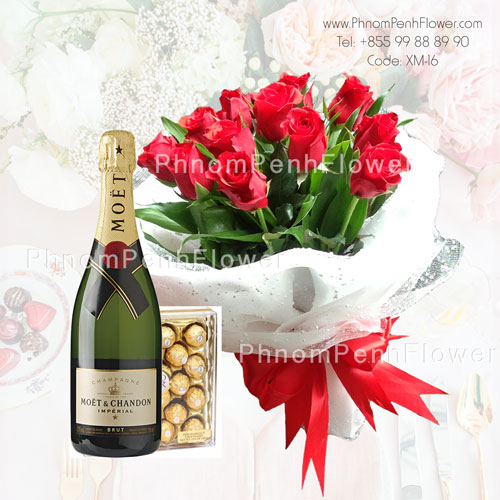 Fabulous roses bouquet – XM-16