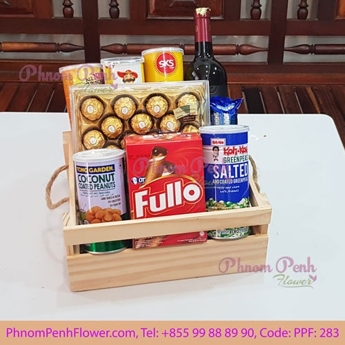 Classic Christmas Gift Basket - PPF-283