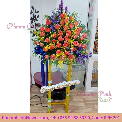 Grand Opening Flower Stand- PPF-291