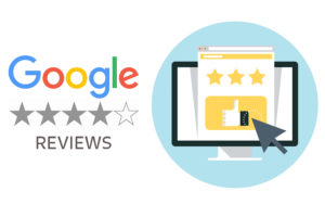Rate us on Google My Business Reviews
