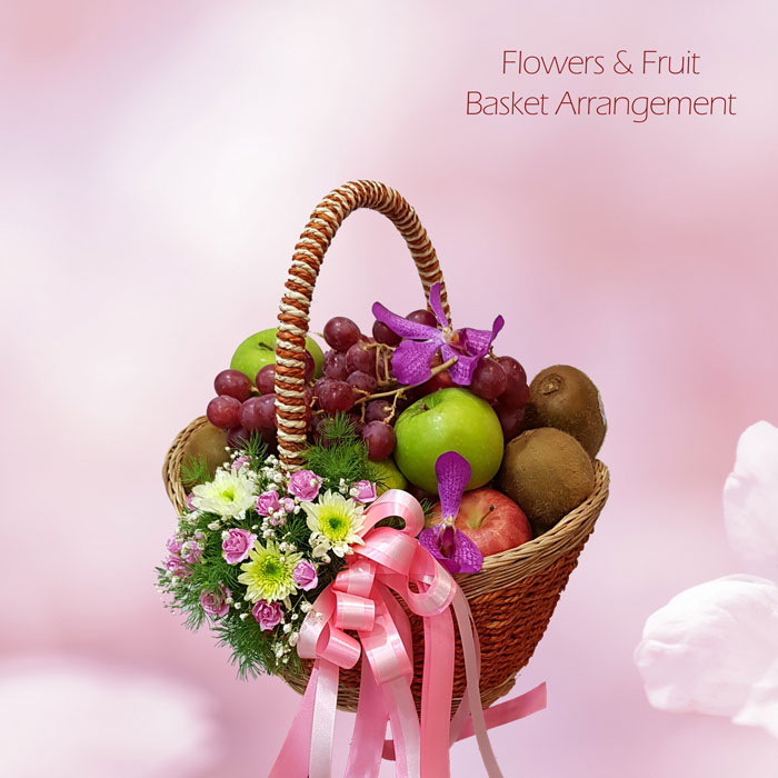 Flower & Fruit Basket