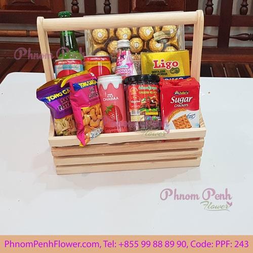 Gourmet Chocolate gift basket - PPF-243
