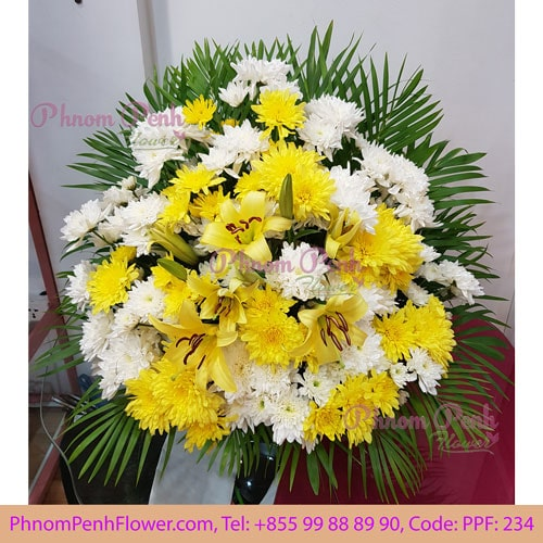 Funeral Basket Arrangement - PPF-234