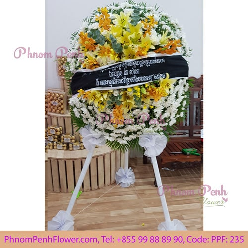 Funeral Wreath Stand