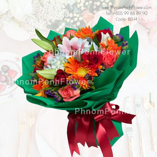Mixed Season flower bouquet – GW-02