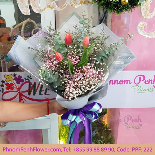 Tulip Bouquet - PPF - 222