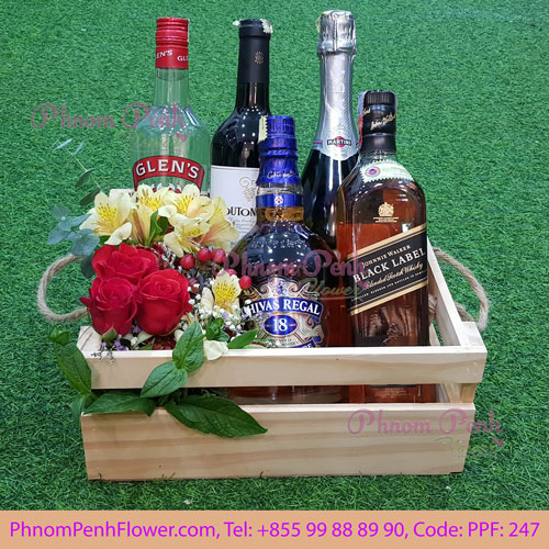 Winter Seasonal Wine Bucket - PPF-247