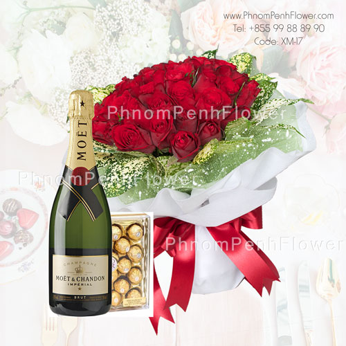Deluxe roses bouquet – XM-17