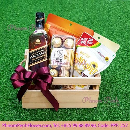 Black Label gift basket - PPF-257