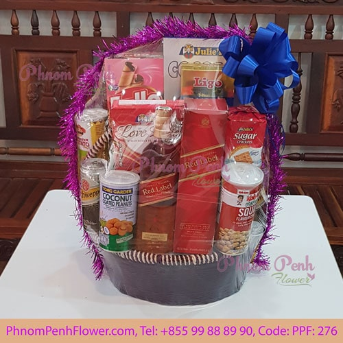 New Year & Christmas Gift Basket - PPF-276