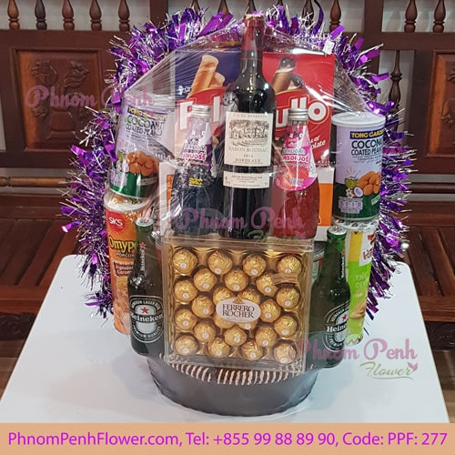 Christmas & New Year Gift Basket - PPF-277