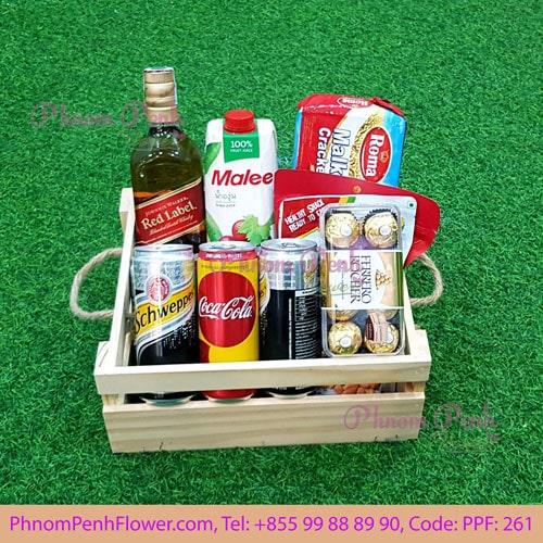 Red Label Gift Basket - PPF-261