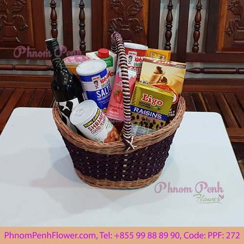 Sweet Gift Basket - PPF-272