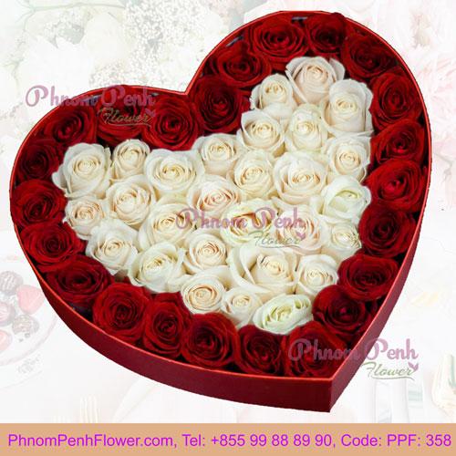 Love Surprise Rose Box – PPF-358