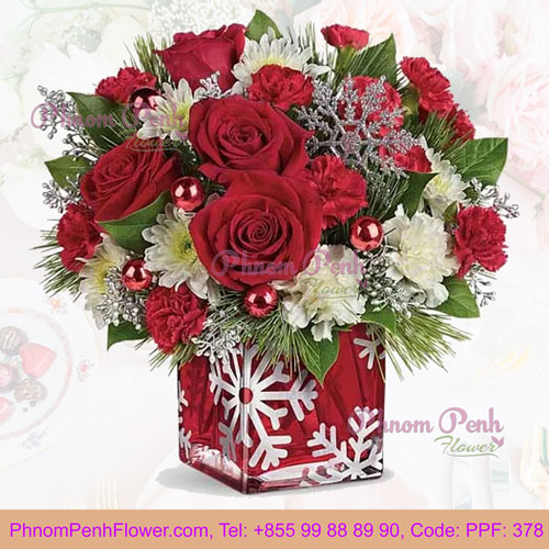 PPF-378 Snowflake Joy Christmas