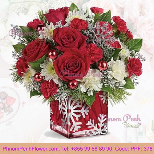PPF-378 Snowflake Joy Christmas