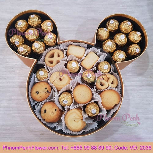 Mickey Chocolate box - VD - 2036
