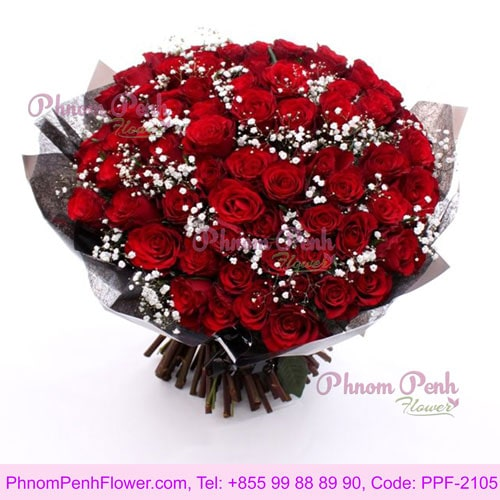69 stem roses bouquet – PPF-2105