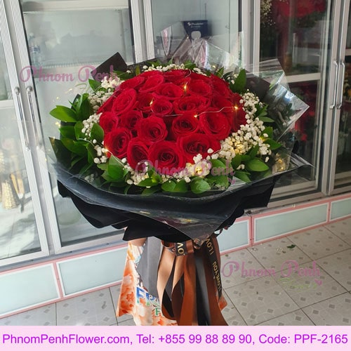 Bouquet of Passionate Love 36 Red Roses - PPF-2165