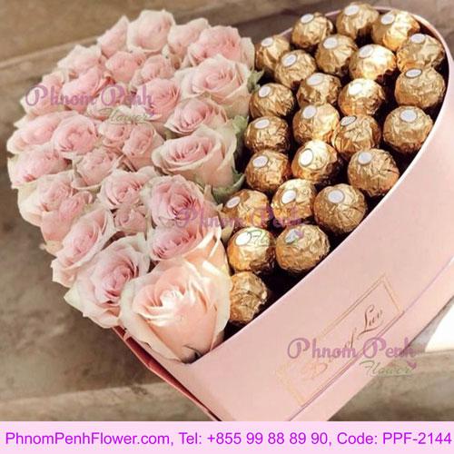 Pink Choco Box