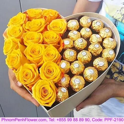 Yellow Choco Box - PPF-2190